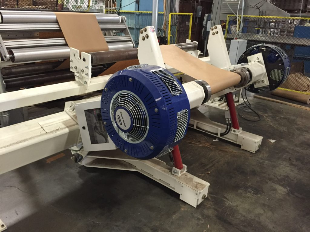 We use Powell unwinds and build them with disc or motors for each application.